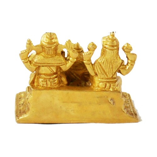 Salvus App SOLUTIONS® Brass Laxmi Ganesh Ji with Kuber Maharaj in Brass Finish - Height 2.8 Inch https://www.amazon.in/Salvus-SOLUTIONS%C2%AE-Ganesh-Maharaj-Finish/dp/B08FXKDB6F - The connection among workmanship and religion has consistently been a close. They state that craftsmanship is the most flawless portrayal of religion and why not. The sculptures of the divine beings help us in associating our sculptures profoundly in the visual structure. In this way, here we bring this arrangement of metal Lakshmi Ganesh Kuber sculpture to make your life ideal for information/music/flourishing.  #BrassLaxmiGaneshJiWithKuber